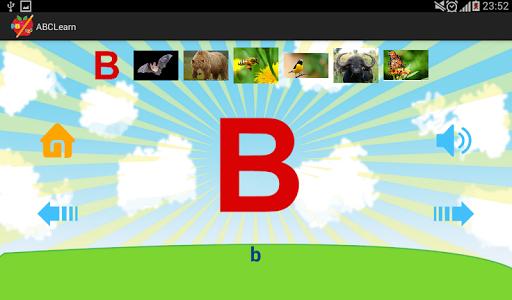 字母为孩子们