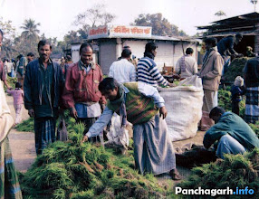 Photo: Village seeds market of Panchagarh