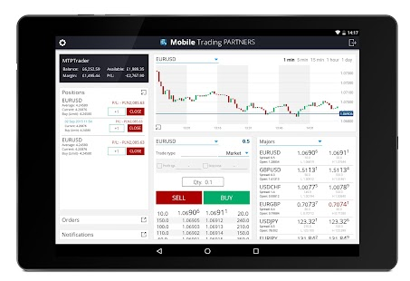Mobile Trading Partners Demo- screenshot thumbnail