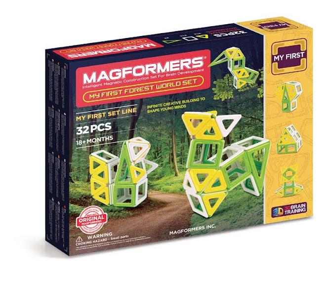 Contenido de Magformers® My First Sand World Set