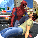 Rope Master Flying Spider Superhero Rescue Mission Icon