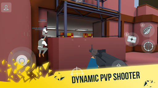 Mental Gun 3D: Pixel FPS Shooter  screenshots 1