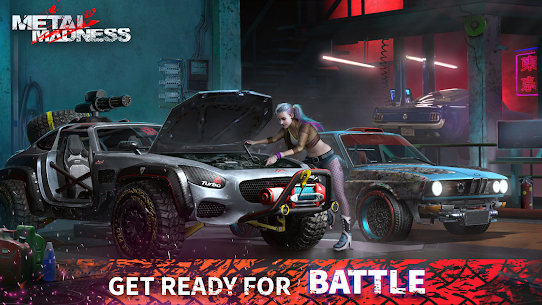 METAL MADNESS PvP: Car Shooter & Twisted Action MOD (Damage) 5