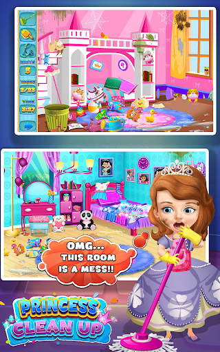 Princess Sofia Cleaning Home 1.0 screenshots 3