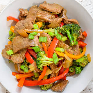 Spicy Beef and Vegetable Stir-Fry.