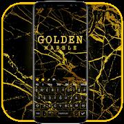 Golden Marble keyboard Theme