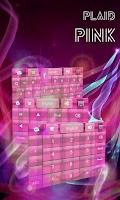 Screenshot of Plaid Pink Keyboard
