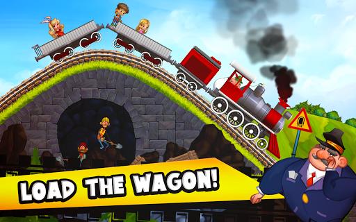 Fun Kids Train Racing Games  screenshots 4