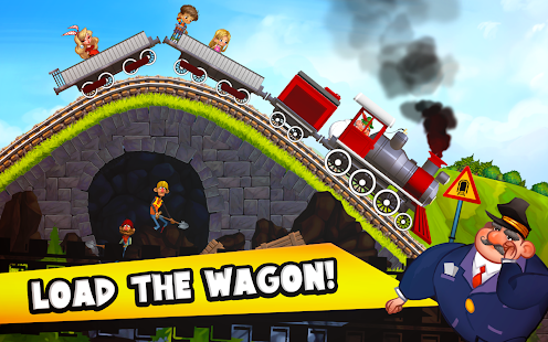 Fun Kids Train Racing Games - náhled