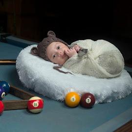 Billiard and me by Dedi Triyanto  - Babies & Children Babies