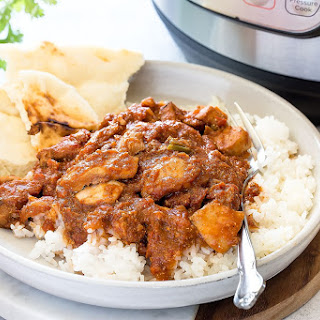 Easy Instant Pot Chicken Tikka Masala.