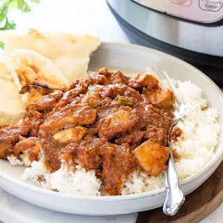 Easy Instant Pot Chicken Tikka Masala.