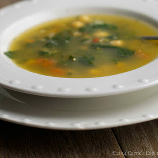 Spinach & Chick Pea Soup