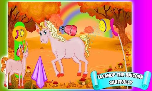 Unicornio beauty makeover salon  juego spa pony  Aplicaciones de