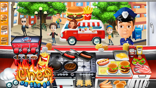 The Cooking Game- Master Chef Kitchen for Girls 7
