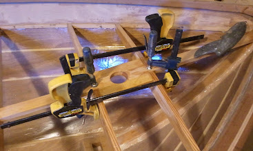 Photo: Finally got around to gluing in the aft king plank.