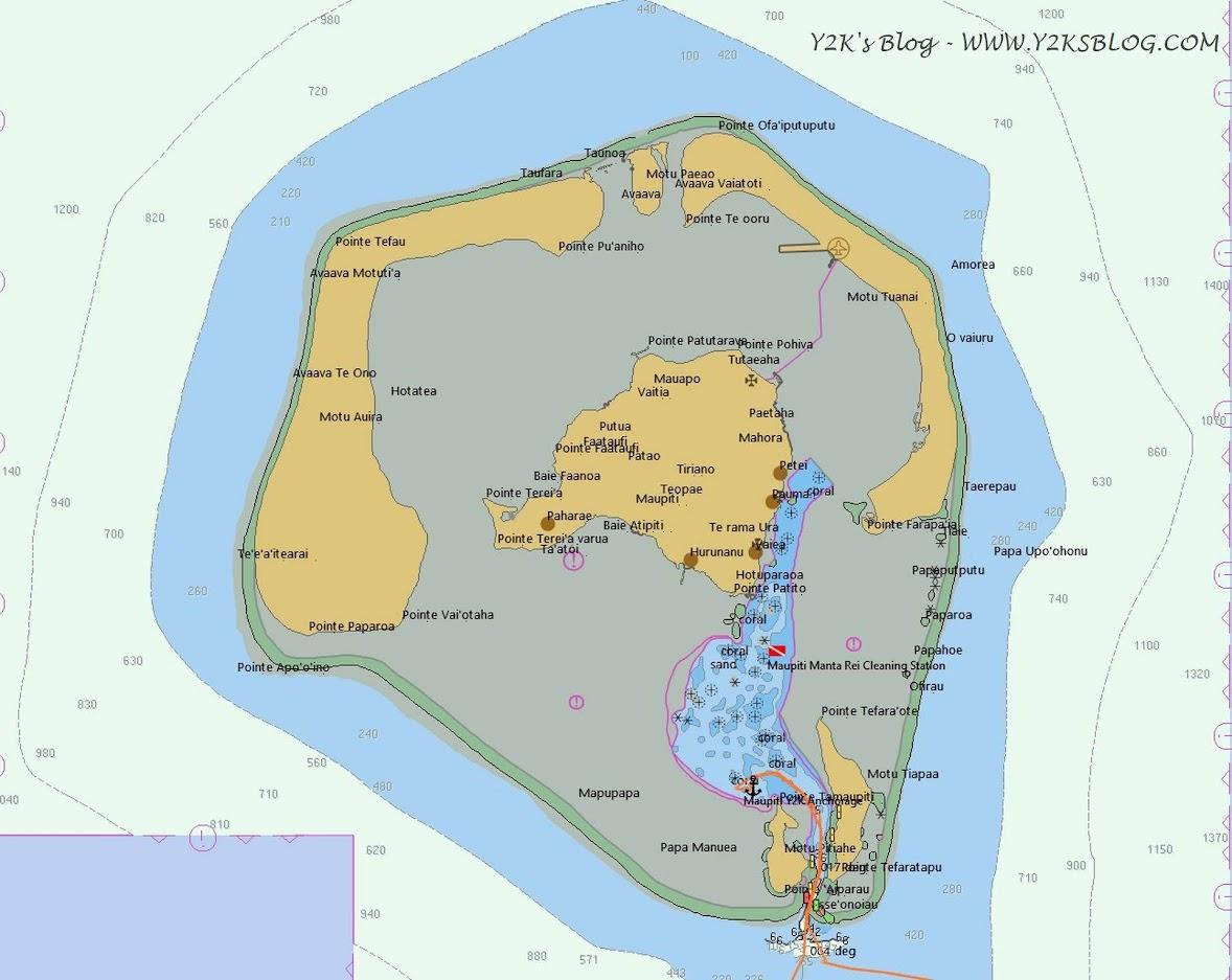 Maupiti Map