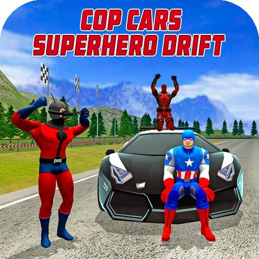 Cop Cars Superhero Drift & Stunt Simulator