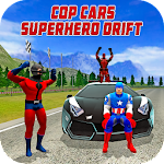 Cop Cars Superhero Drift & Stunt Simulator Icon