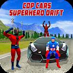 Cop Cars Superhero Drift & Stunt Simulator Icon