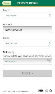 M&T Mobile Banking - screenshot thumbnail