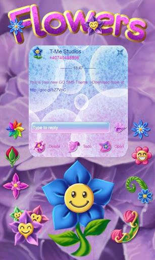 Flowers GO SMS