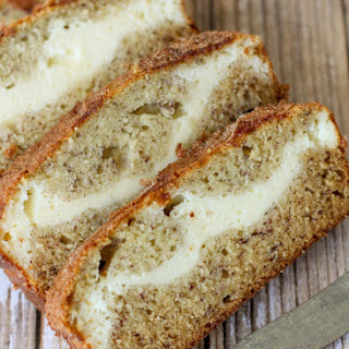 Banana Bread With Cream Cheese Filling Recipes.