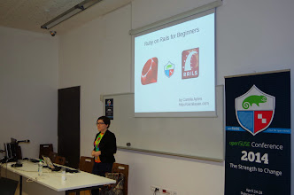 Photo: Ruby on Rails for beginners, Camila Ayres