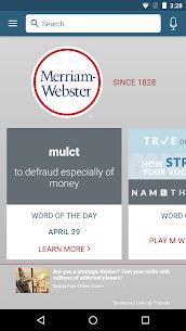 Dictionary – Merriam-Webster Apk 1