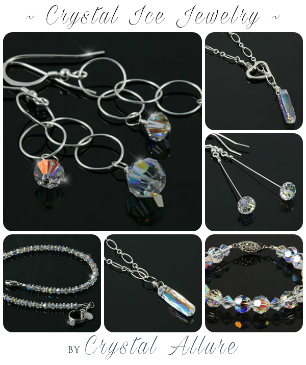 Swarovski Crystal Ice Jewelry Collection by Crystal Allure Beaded Jewelry
