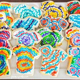 Tie Dye Tuesday - Tie Dye Cookies Recipe