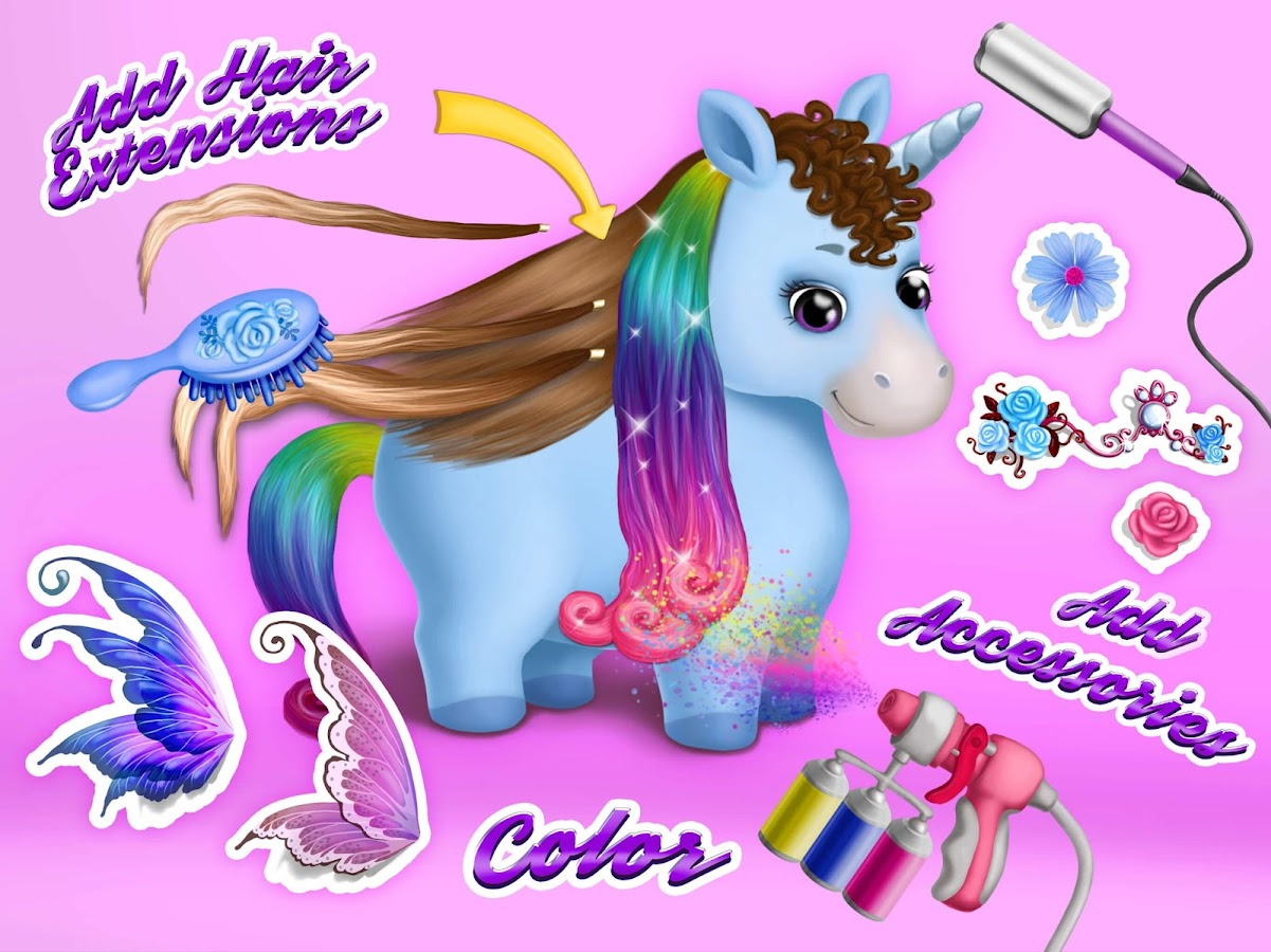 Pony Sisters Hair Salon 2- screenshot