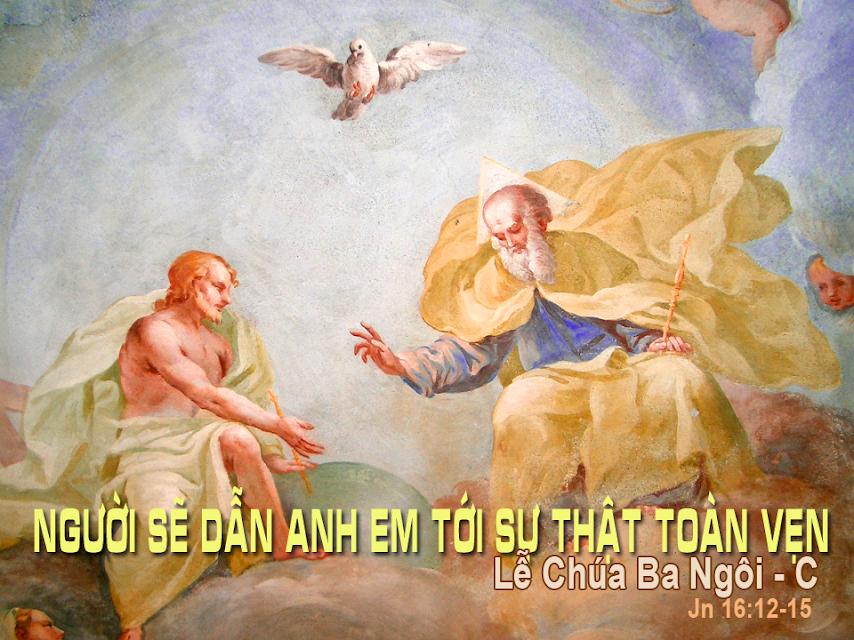TLO: Chúa Ba Ngôi năm C