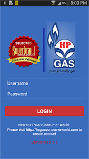 HP GAS App- screenshot thumbnail