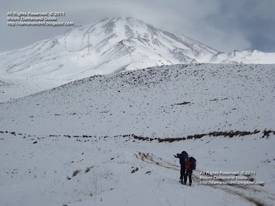 Ski Mountaineering Mt Damavand Iran