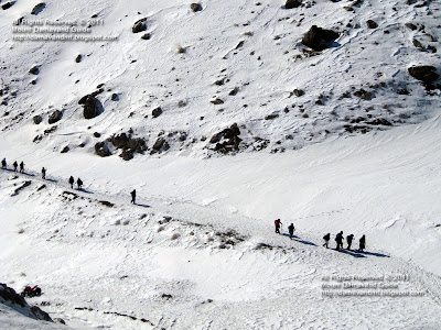 Mt Tochal Tehran Winter Climb