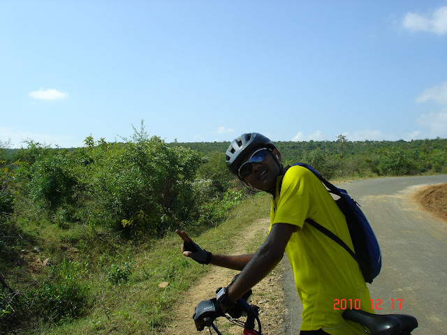 Shankar joining me between SS2 and SS3 , before Gajanur
