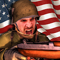 D-Day World War 2 Battle: WW2 Shooting Game 3D icon