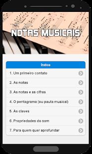 Notas Musicais - náhled