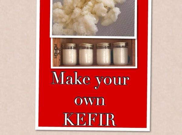 Basic Organic Milk Kefir (useing Kefir Grains) Recipe