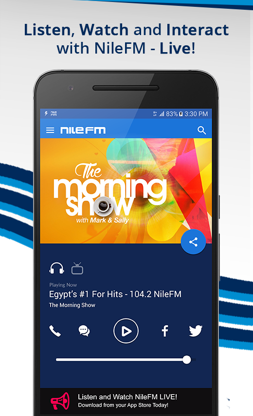 NileFM- screenshot