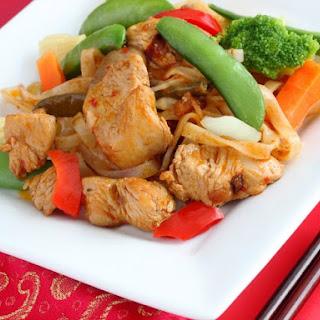 Pheasant Stir-Fry