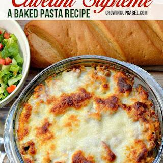 Cavetini Supreme Baked Pasta