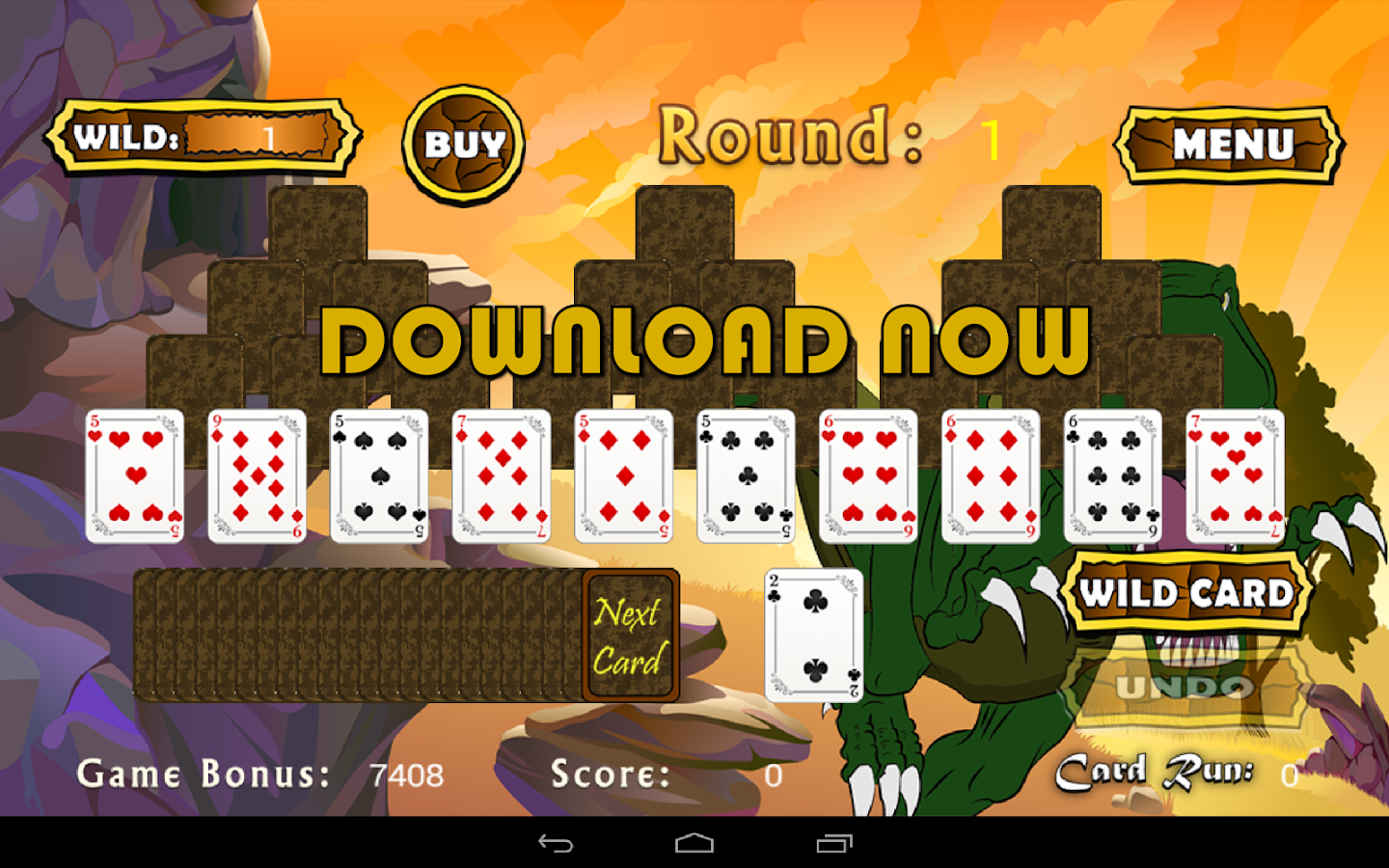 triple pyramid solitaire
