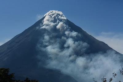Volcán el Arenal en Costa Rica
