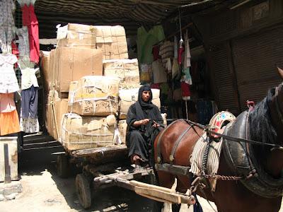 Zoco en el Cairo, Egipto