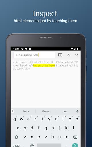 HTML/CSS Website Inspector screenshot 8