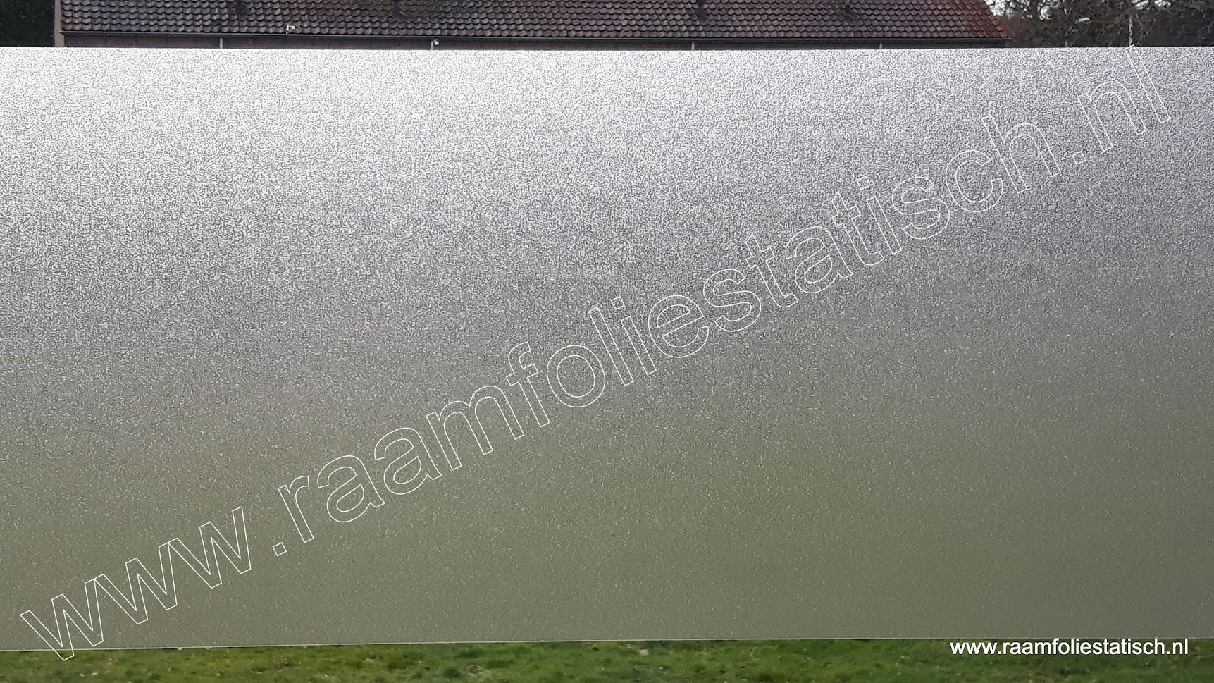 Statische inkijkwerende matte raamfolie 45xm x 1,5m