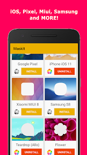 MaskIt - Customize your icons! Screenshot