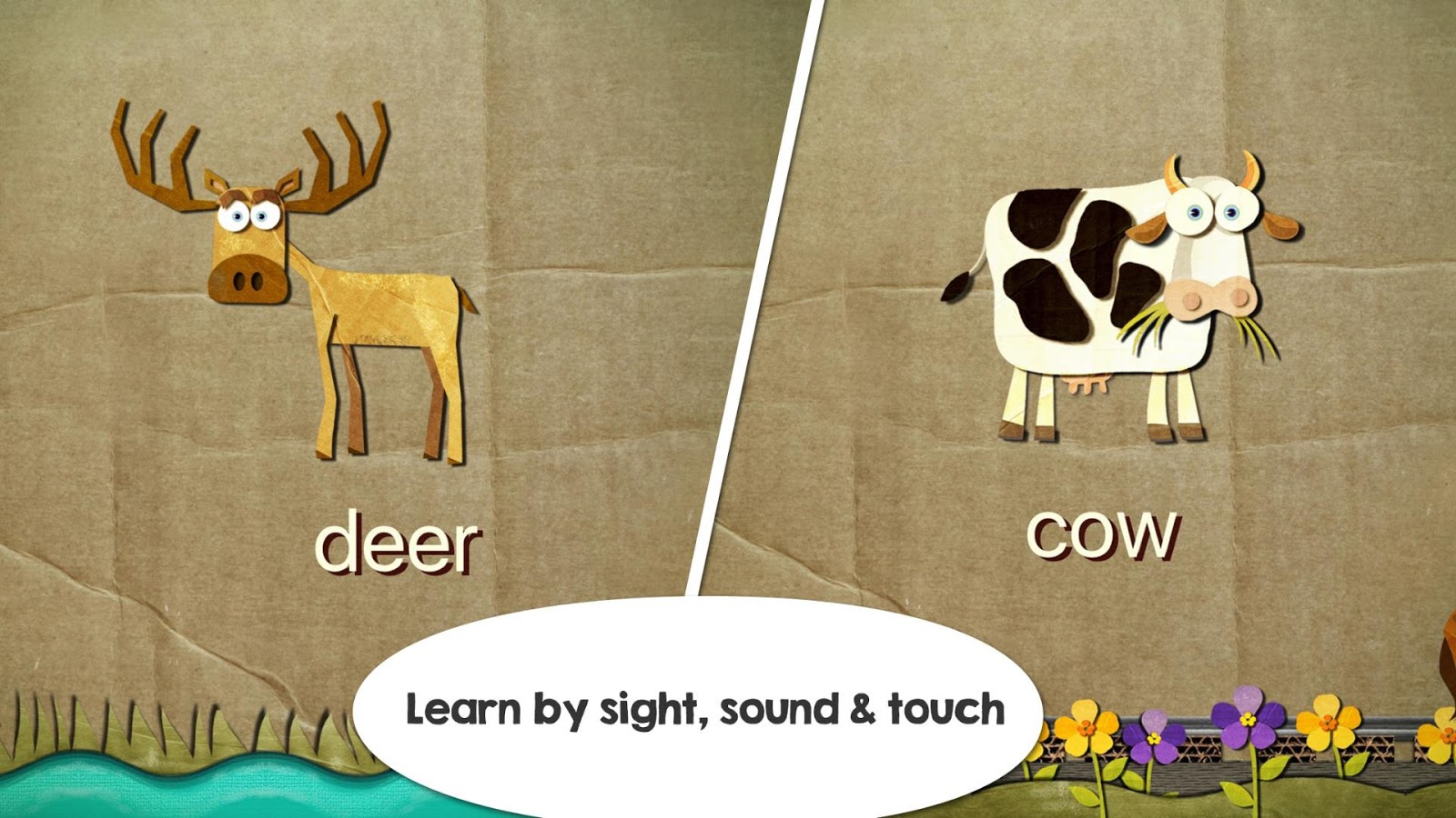 Beck & Bo: Toddler First Words- screenshot